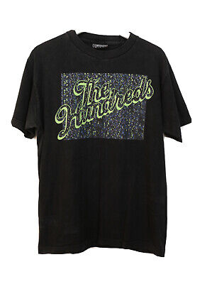 Vintage The HUNDREDS Black T-shirt | Medium M