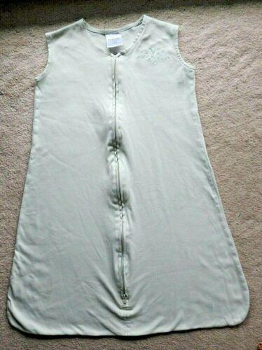 Halo Sleep Sack Safe Sleep Blanket  Size Large 12 to 18 months 100 Cotton Green