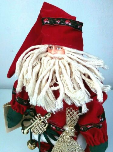 Vintage Old World Christmas Santa Collection Netherlands