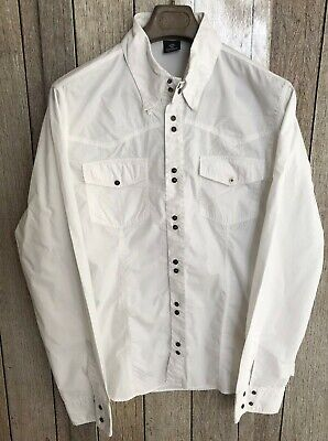 Button Down Shirt Versace Couture Vintage Mens Long Sleeves Western Size XXXL