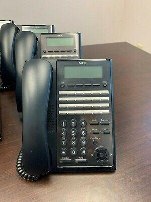 24 Button Black Nec Digital Phones