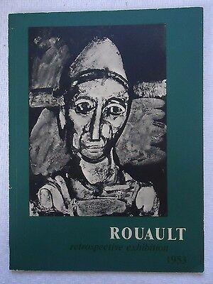 Georges Rouault Retrospective Exhibition Catalog 1953 MOMA Museum of Modern Art