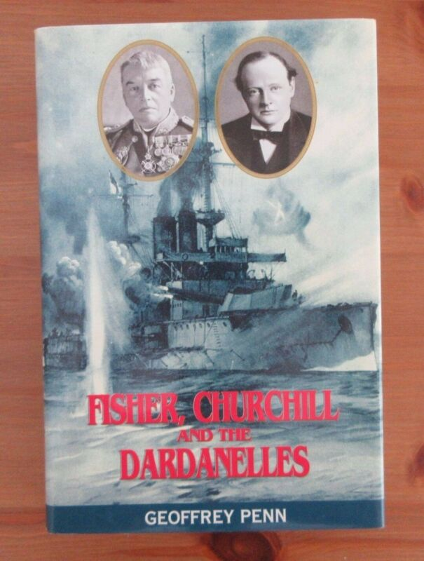 CHURCHILL DARDANELLES WW1 BOOK PRINTED IN ENGLAND penn