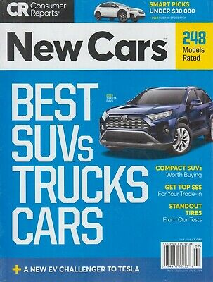 Consumer Reports July 2019 Best SUVs, Trucks & Cars 248 Models