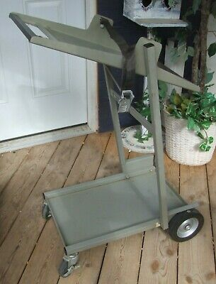 Hp Hewlett Packard 1114a Testmobile Adjustable Angle Oscilloscope Cart