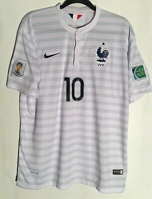 f43958d2f NIKE FRANCE BENZEMA SOCCER JERSEY PATCHS FIFA WORLD CUP BRAZIL 2014 MEXICO  USA