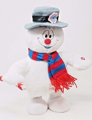 Unique Frosty the Snowman Mover and Shaker Gemmy Industries Singing Doll