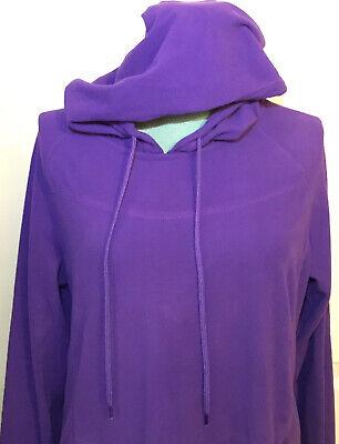Columbia Women's Fleece Jacket Purple Size Large