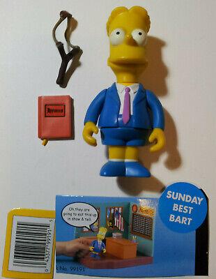 Simpsons World of Springfield Sunday Best Bart Simpson WoS Playmates