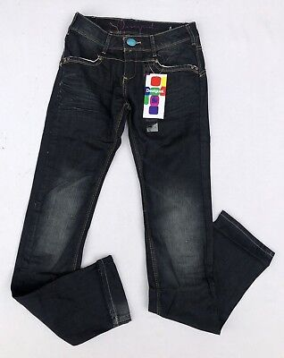 JEANS DESIGUAL DENIM PIPPINGS SIZE 28 (Taille 38 )