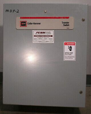 30 Amp Cutler-hammer Automatic Transfer Switch 208v 60hz 3ph 3p