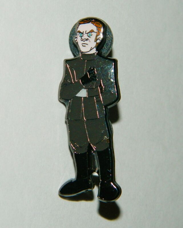 Star Wars Celebration Chicago 2019 General Hux Figure Exclusive Metal Pin NEW
