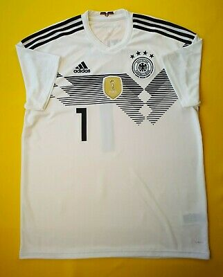 69019dd8394 5+ 5 Germany soccer jersey large 2018 home shirt BR7843 football Adidas ig93