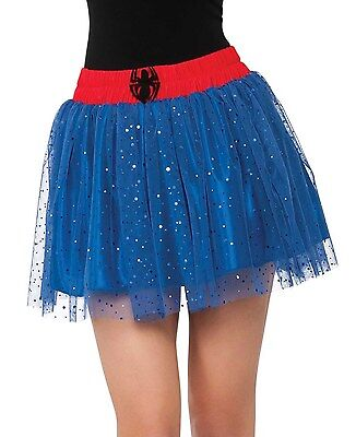 Spider Girl Tutu Skirt for Adults New by Rubies 820042 - Blue Tutu For Adults