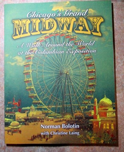2021 SALE COLUMBIAN MIDWAY SIGNED COPY, LOWERED PRICE #213
