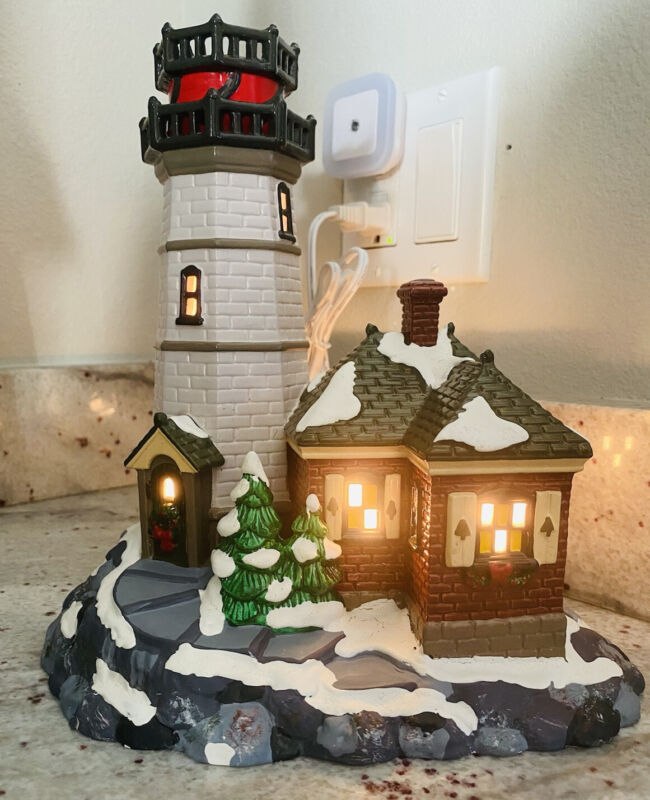 Christmas Cove Lighthouse Department 56 1995 Vintage