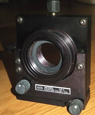 Newport Model Lp-1 - Xyz Xy Lens Positioner Lens And Mirror Mount - 1.0 Lens