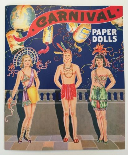 CARNIVAL PAPER DOLLS - Wonderful dress-up costumes for 6 dolls!