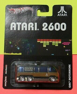 New Hot Wheels Pop Culture Atari 2600 GMC Motorhome Real Riders