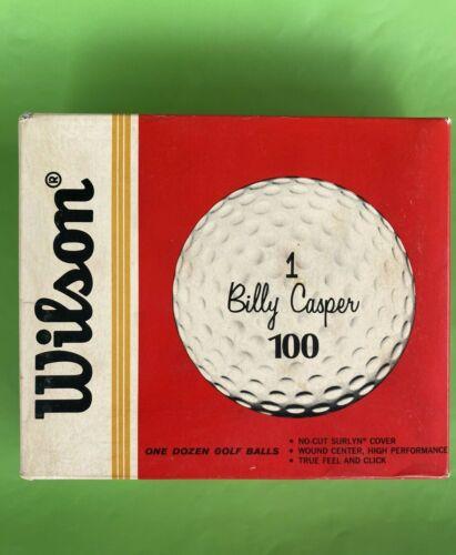 12 Vintage Wilson Billy Casper 100 Surlyn Cover 1960 Unused