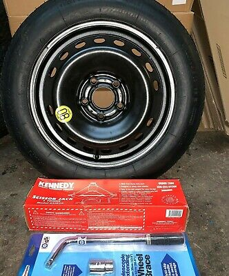 """NISSAN QASHQAI SPARE WHEEL SPACE SAVER 16"""" // NEW JACK AND SPANNER INCLUDED"""