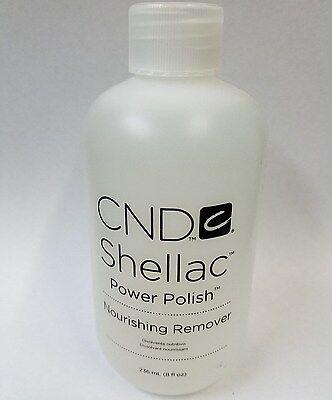 CND Vinylux Shellac Power Polish Nourishing Nail Polish Remover 8 oz / 236 mL