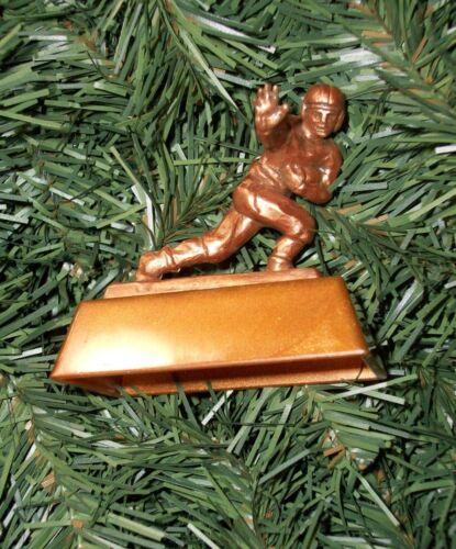 Heisman Trophy mini NCAA Christmas Tree Ornament Football Figure