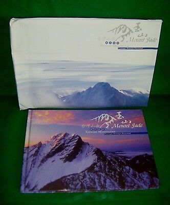 TAIWAN MOUNTAINS Mount Jade POSTAGE STAMPS PICTORIAL BOOK w/STAMPS & POSTCARDS B