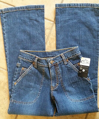 """Kirsten Stretch Jeans Juniors/Youth Size 7 Dark Blue Pants Inseam 23 x 24.5"""" NWT"""