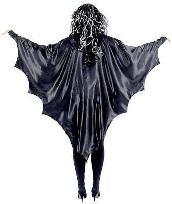 schwarze Vampir Flügel für Kinder Vampirflügel Fledermaus  Cape Umhang Halloween