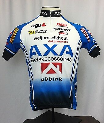 AGU Bike Gear AXA Fietsaccessoires Cycling JerseyWhite Size 3