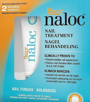 Naloc Nail Treatment - discoloured nails, fungal infections, psoriasis nails