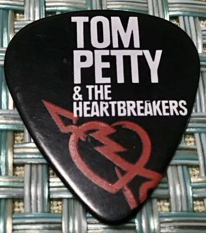 Tom Petty & The Heartbreakers Tour 2013 Guitar Pick