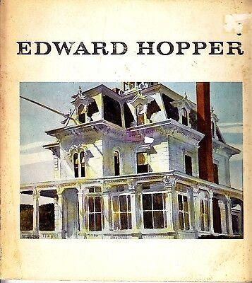 Edward Hopper Lloyd Goodrich Whitney Museum of Art Catalog NYC 1965