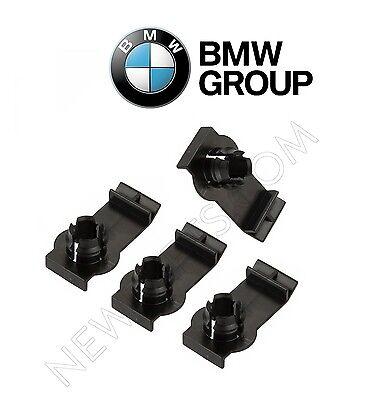 Left+Right 4 GENUINE front Window Regulator Bracket Clips kit For BMW x5