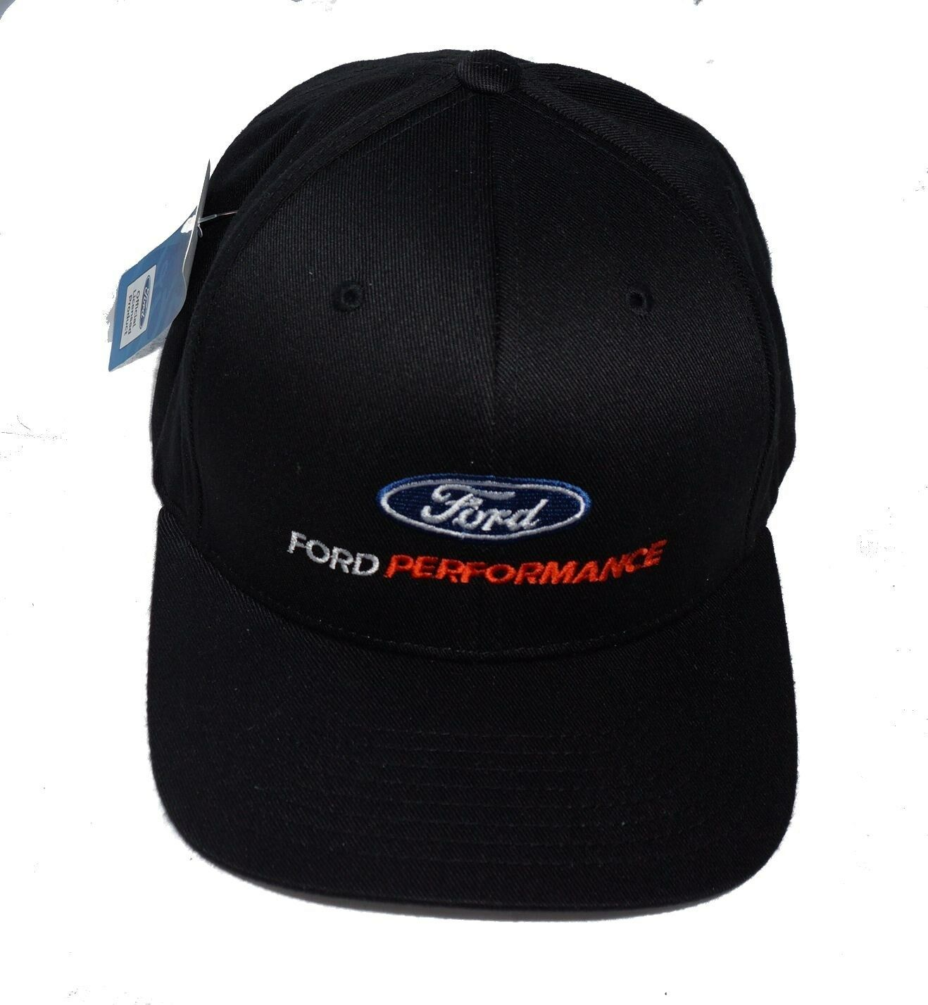 FORD PERFORMANCE FLEX FIT HAT IN BLACK SOLD EXCLUSIVELY HERE LICENSED BY FORD