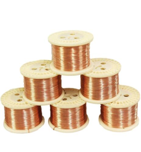 Copper Round Wire (Dead Soft) Gauges 12 To 30 See Variations 5 To 100 Ft Coil