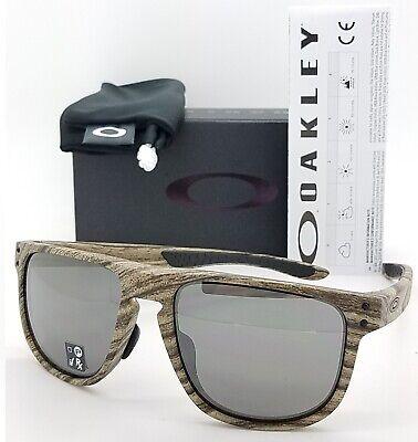 NEW Oakley Holbrook R sunglasses Walnut Prizm Black AUTHENTIC 9379-09 Asian Fit
