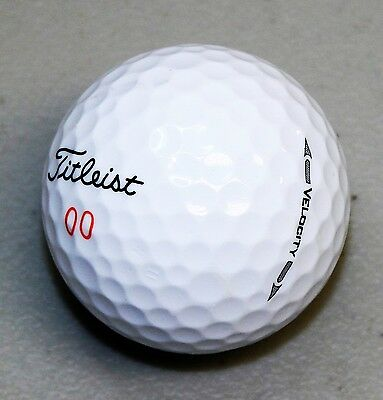 24 Titleist Velocity Near Mint AAAA Used Golf Balls - FREE Shipping
