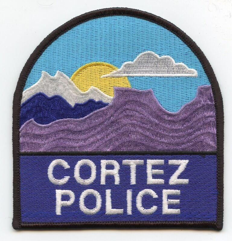CORTEZ COLORADO CO very colorful POLICE PATCH