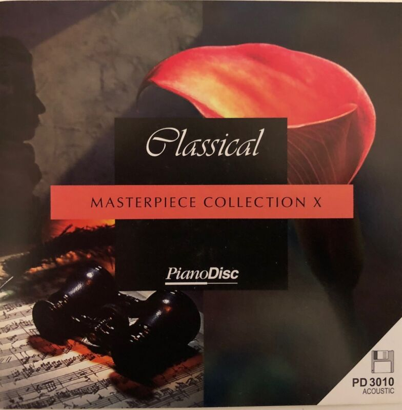 PianoDisc: CLASSICAL - MASTERPIECE COLLECTION X (PD 3010)