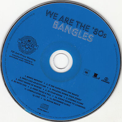 We Are the '80s by Bangles (CD, 2006, Columbia (USA)) DISC ONLY  (80s Bangles)