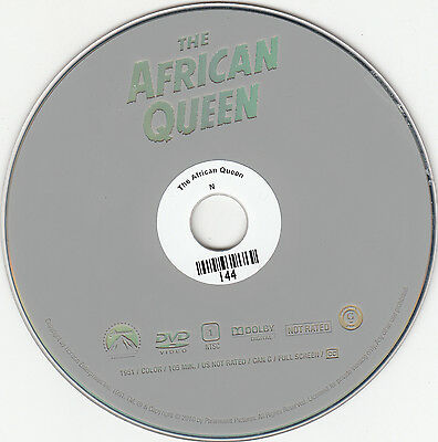 The African Queen (DVD, 2010, No Cover)