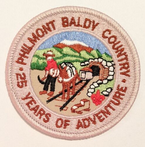 Philmont Scout Ranch Boy Scouts Baldy Country 25 years patch