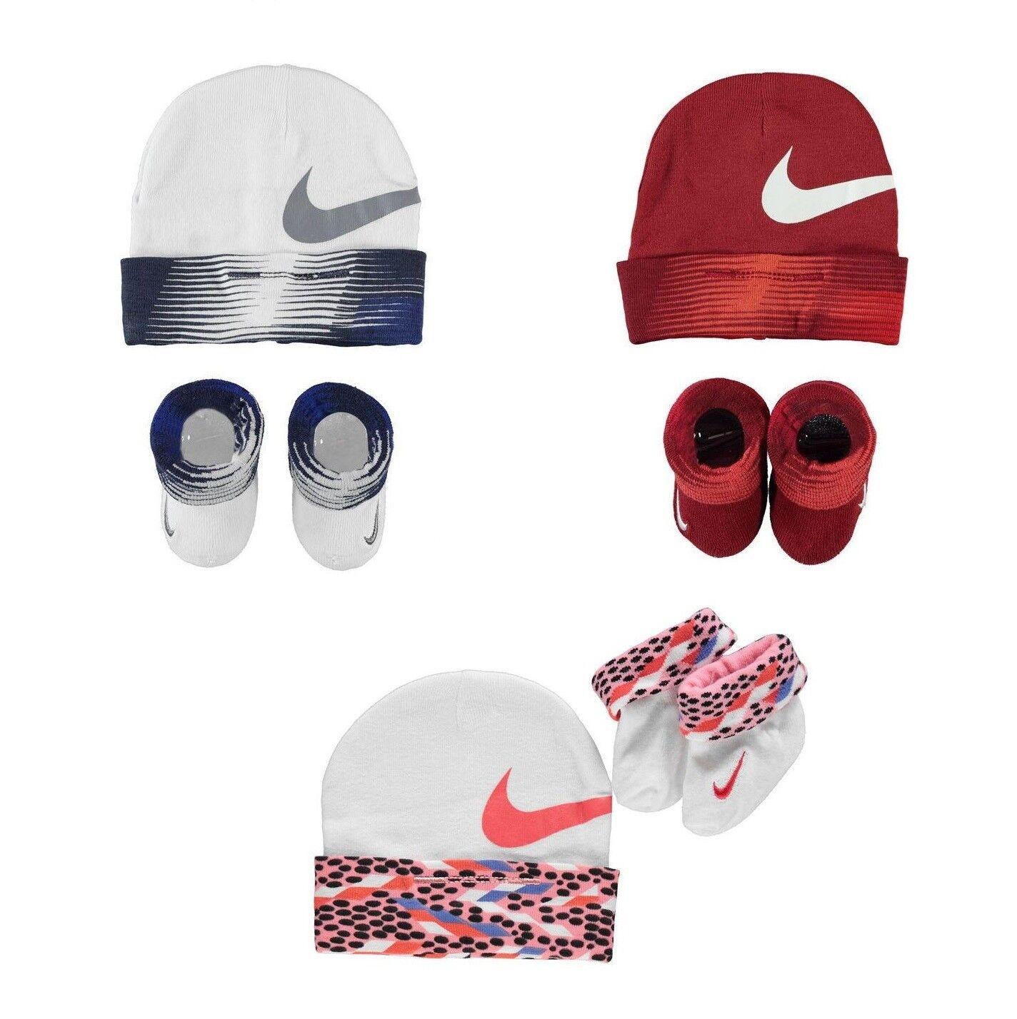 Nike Baby Socken Mütze Set 2 Teile  Neugeborene 0-6 Monate