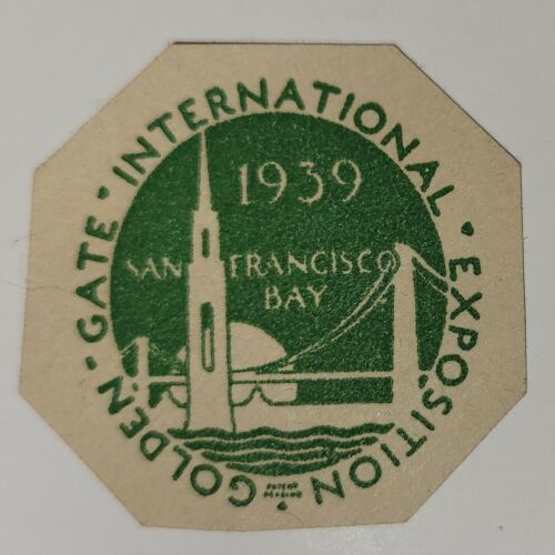Golden Gate Expo Stamp - 1939