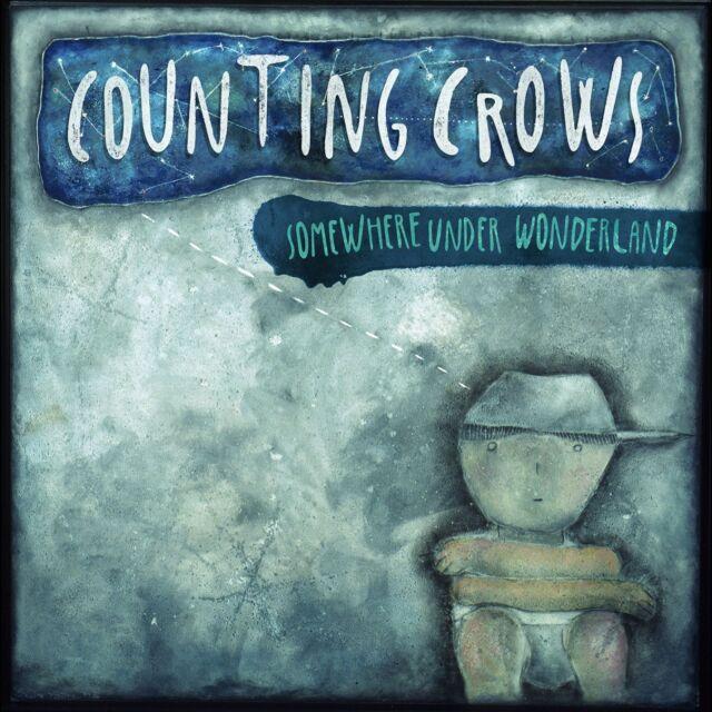 COUNTING CROWS SOMEWHERE UNDER WONDERLAND CD ALBUM (2014)