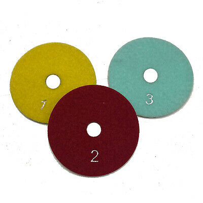 4 Wet Diamond Polishing Pads For Granite Natural Stone Marble