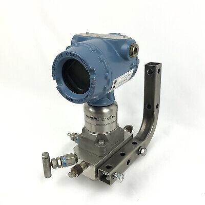Rosemount 3051s Coplanar Pressure Transmitter 3051s3cd2a2a11a1am5 Mount Bar