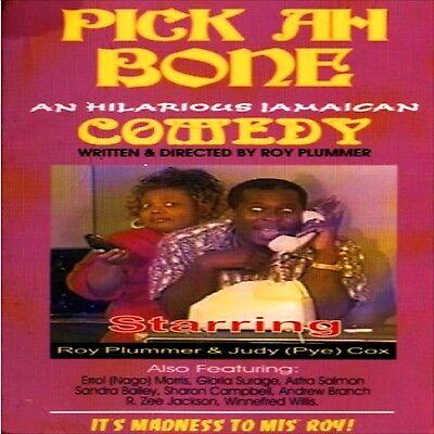 Pick Ah Bone Jamaican Comedy! DVD Play English Patois Roy Plummer Judy Cox New